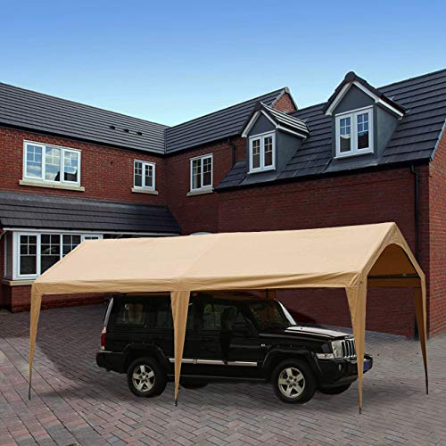 Abba-Patio-10-x-20-Feet-Outdoor-Carport-Canopy-with-6-Steel-Legs-White-0-2
