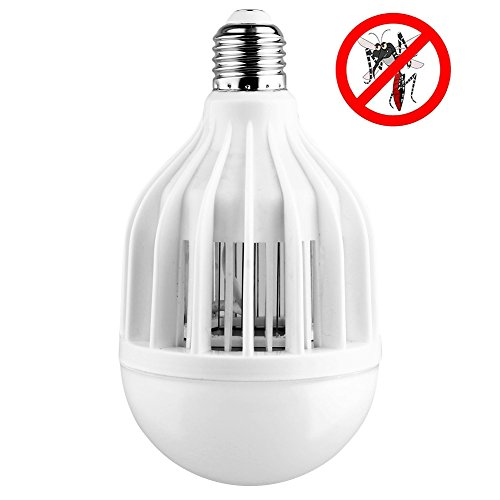 AcTopp-3-in-1-Bug-Zapper-2017-Upgraded-Bulb-85V-265V-Mosquito-Killer-Bug-Zapper-Light-Bulb-IndoorOutdoor-Lighting-Flying-Insects-Wasp-Moths-Bug-Killer-Removable-for-Easy-Cleaning-Brush-Included-0
