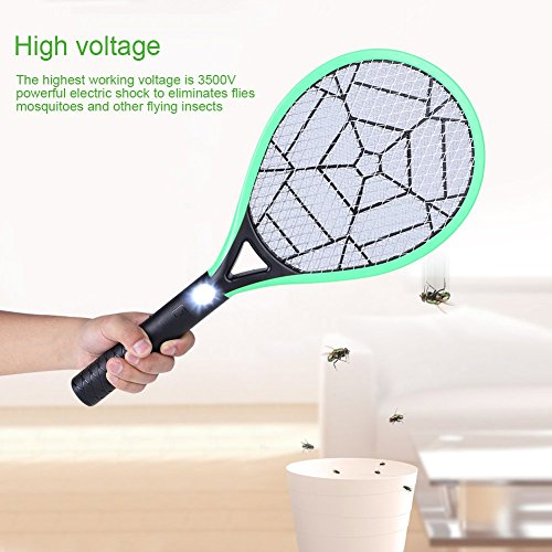 Acogedor-Bug-Zapper-Rechargeable-Electric-Fly-SwatterFly-KillerInsects-KillerMosquito-Zapper-against-FliesBugsBees-and-Other-Pest-0-1