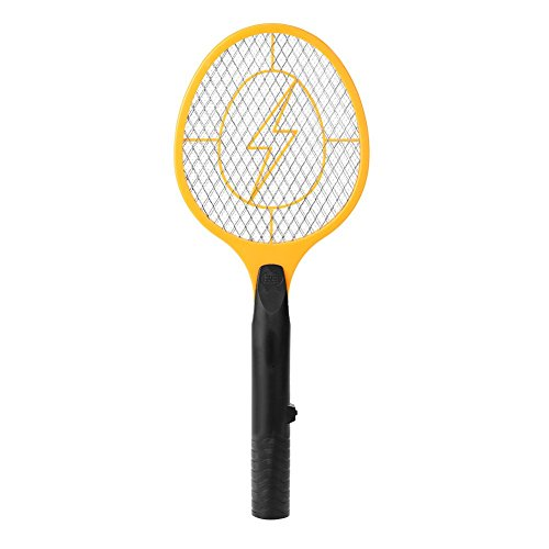 Acogedor-Electric-Fly-Swatter-Fly-KillerInsects-KillerBug-ZapperMosquito-Zapper-against-FliesBugsBees-and-Other-PestPowered-By-2-x-AA-batteries-0