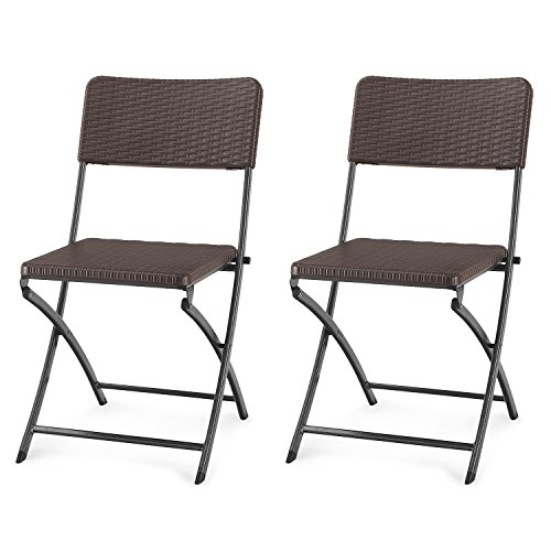 Adeco-Folding-Bistro-Style-Patio-Rattan-Chairs-Brown-Set-Of-2-0