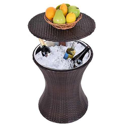 Adjustable-Outdoor-Patio-Rattan-Ice-Cooler-Cool-Bar-Table-Party-Deck-Pool-1PC-FREE-E-Book-0-0