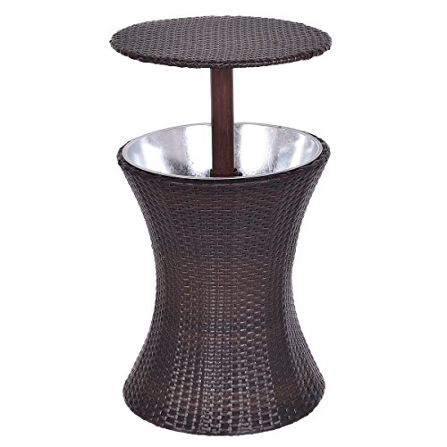 Adjustable-Outdoor-Patio-Rattan-Ice-Cooler-Cool-Bar-Table-Party-Deck-Pool-1PC-FREE-E-Book-0