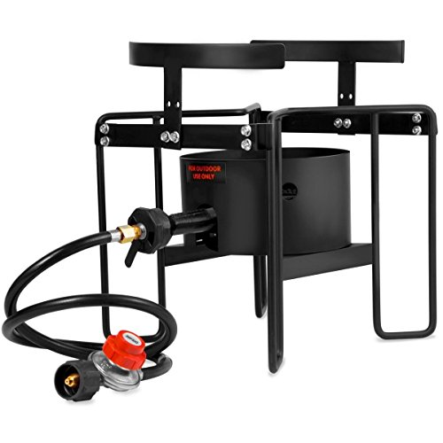 Adumly-20psi-Turkey-Fryer-Stand-Gas-Propane-Stove-Single-Burner-Outdoor-Cooking-Camping-0