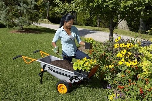 AlekShop-Multipurpose-cart-Wheelbarrow-Yard-Courtyard-Garden-Transport-Heavy-Duty-Cart-8-in-1-Multi-Function-0-1
