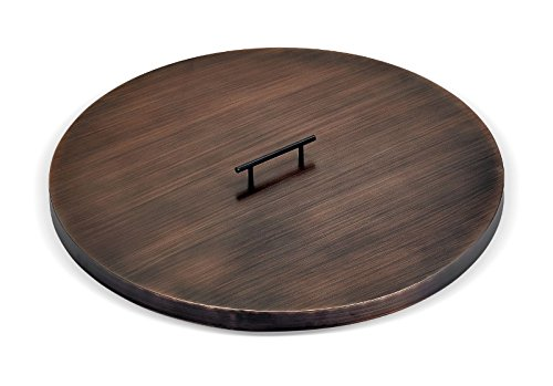 American-Fireglass-Round-Oil-Rubbed-Bronze-Fire-Pit-Cover-0