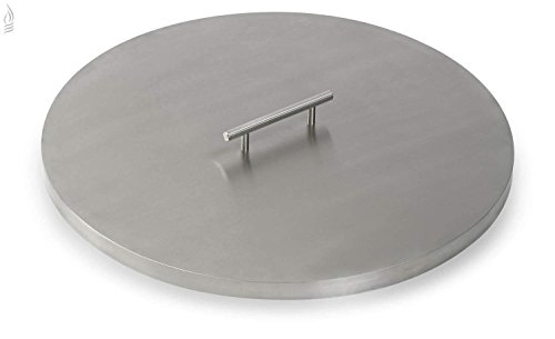 American-Fireglass-Stainless-Steel-Fire-Pit-Pan-Covers-Round-0