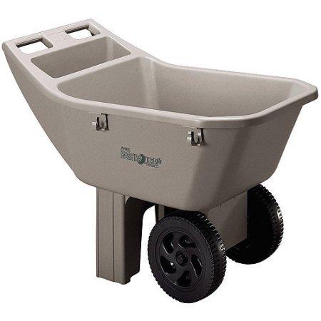 Ames-2463675-3-Cubic-Feet-Easy-Roller-Jr-Lawn-Cart-Gardening-Wagons-Wheelbarrows-0