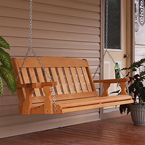 Amish-Heavy-Duty-800-Lb-Mission-4ft-Treated-Porch-Swing-With-Cupholders-Cedar-Stain-0-0