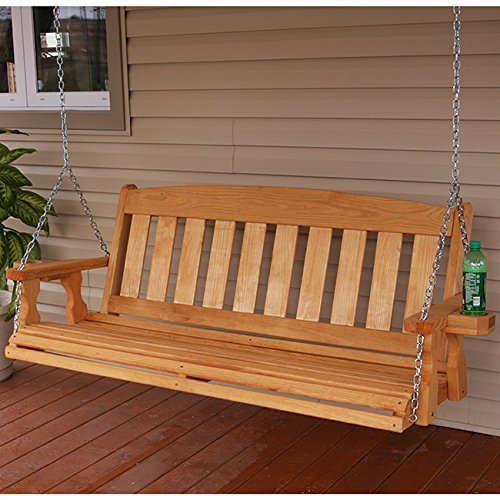 Amish-Heavy-Duty-800-Lb-Mission-4ft-Treated-Porch-Swing-With-Cupholders-Cedar-Stain-0-1