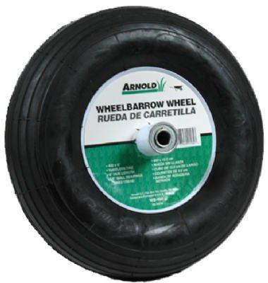 Arnold-Contractor-Wheelbarrow-Replacement-Wheel-400-X-6-Pneumatic-14-Dia-0-0
