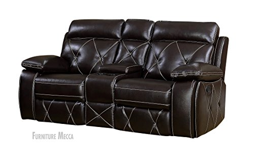 Atlas-Pillow-Top-Faux-Leather-Cushioned-Sturdy-Wood-Frame-Stitch-Accent-Reclining-Loveseat-0