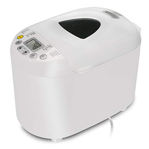 Automatic-Bread-Maker-2LB-Programmable-Bread-Machine-With-Gluten-Free-Sitting-LED-Display-Visual-Menu-19-Programs-3-Loaf-Sizes-3-Crust-Colors-15-Hours-Delay-Timer-1-Hour-Keep-Warm-0
