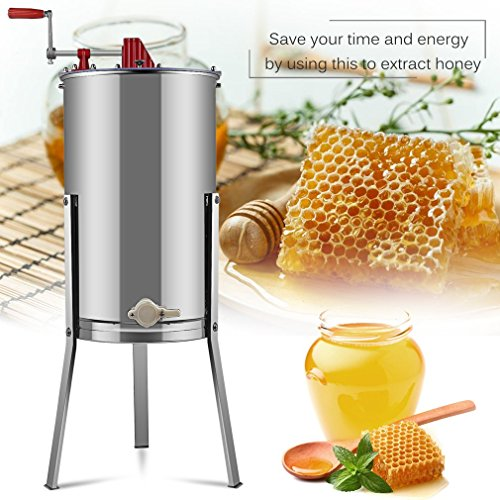 Belovedkai-Honey-Extractor-Bee-Honey-Extractor-Manual-Honey-Extractor-2-Two-Frame-Stainless-Steel-Beekeeping-Equipment-for-Commercial-Household-Use-0