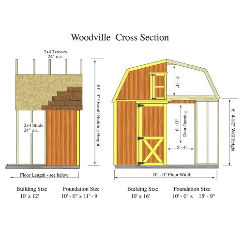 Best-Barns-Woodville-10-X-16-Wood-Shed-Kit-0-1