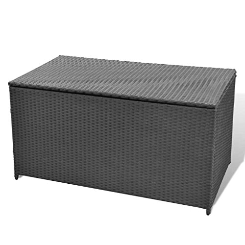 BestHomeFuniture-Patio-Outdoor-Poly-Rattan-Desk-Storage-Box-Patio-Porch-Cushion-Pillow-Storage-Black-0-1