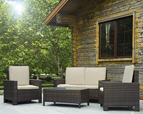 BestMassage-4-Pieces-Outdoor-Patio-PE-Rattan-Wicker-Sofa-Sectional-Furniture-Set-with-Cushion-0