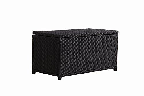 BroyerK-Outdoor-Black-Wicker-Cushion-Storage-Box-0-1