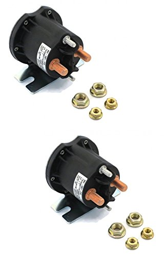 Buyers-Products-1304719-Solenoid-12v-Motor-Relay-Continuous-Replaces-Boss-Hyd01633-Lot-of-2-0