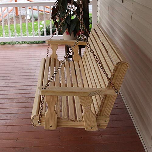 CAF-Amish-Heavy-Duty-800-Lb-Roll-Back-4ft-Treated-Porch-Swing-0-1