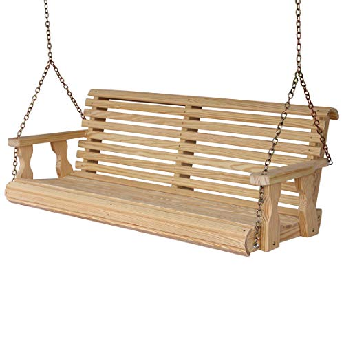 CAF-Amish-Heavy-Duty-800-Lb-Roll-Back-4ft-Treated-Porch-Swing-0