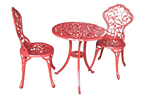 CC-Outdoor-Living-3-Pc-Sturdy-Red-Aluminum-Scroll-and-Leaf-Design-Bistro-Set-0
