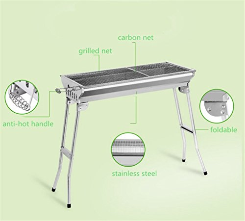 CLODY-Outdoor-Square-Charcoal-Stainless-Steel-Folding-Grill-Portable-Grill-0-1