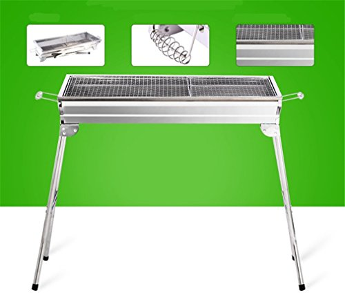 CLODY-Outdoor-Square-Charcoal-Stainless-Steel-Folding-Grill-Portable-Grill-0-2