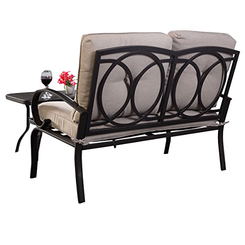COLIBROX-2PC-Patio-Outdoor-LoveSeat-Coffee-Table-Set-Furniture-Bench-With-Cushions-New-Patio-Outdoor-Love-Seat-0-0