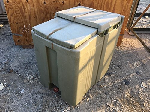 Cambro-Military-Ice-Chests-Box-Green-Catering-Field-Plastic-Meal-Kitchen-0