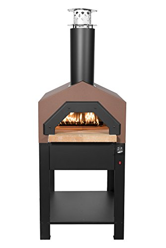 Chicago-Brick-Oven-Americano-Wood-fired-Outdoor-Pizza-Oven-Stand-Wood-Only-or-Gas-Hybrid-Terra-Cotta-or-Dark-Roast-Finish-0