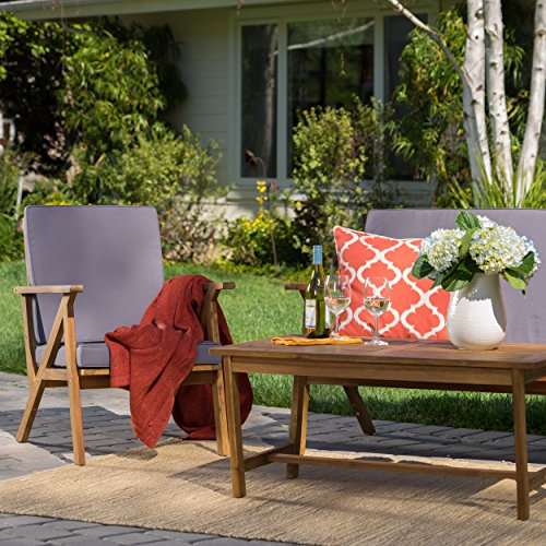 Christopher-Knight-Home-300251-Manarola-4-Piece-Outdoor-Acacia-Wood-Chat-Set-in-Teak-FinishGrey-0-0