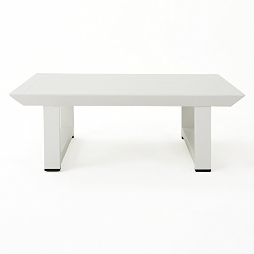 Christopher-Knight-Home-303976-Bronte-Outdoor-Rust-Proof-Aluminum-Coffee-Table-White-0-0
