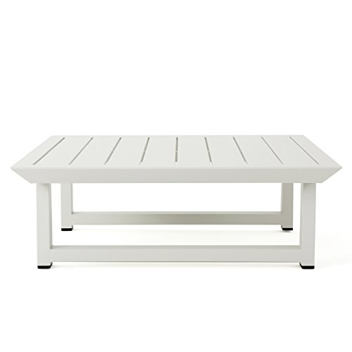 Christopher-Knight-Home-303976-Bronte-Outdoor-Rust-Proof-Aluminum-Coffee-Table-White-0-2