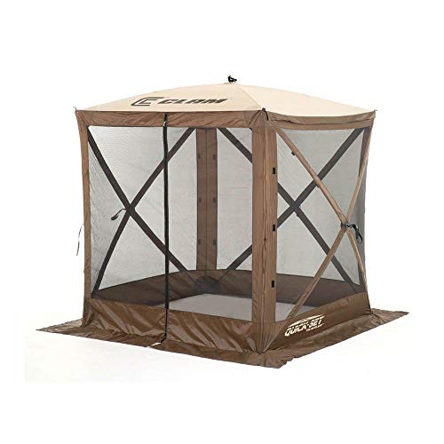 Clam-Quick-Set-Traveler-Portable-Camping-Outdoor-Gazebo-Canopy-3-Wind-Panels-0-2