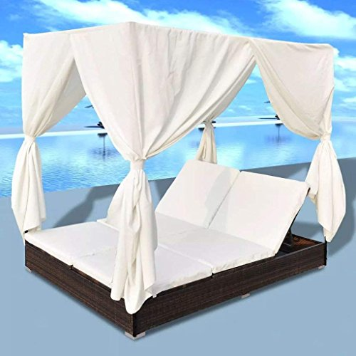 Clever-Market-Patio-Furniture-Daybed-Outdoor-Sun-Lounger-Comfortable-Twin-Sofa-Daybed-with-Curtains-for-Patio-Rattan-Brown-0