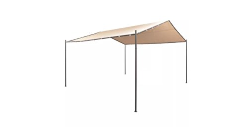 Comfyleads-Gazebo-Pavilion-Tent-Canopy-Steel-Beige-13-1-Inches-x-13-1-Inches-0-2