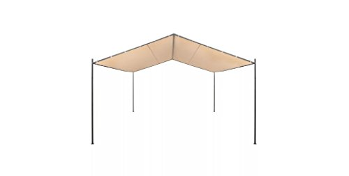 Comfyleads-Gazebo-Pavilion-Tent-Canopy-Steel-Beige-13-1-Inches-x-13-1-Inches-0-3