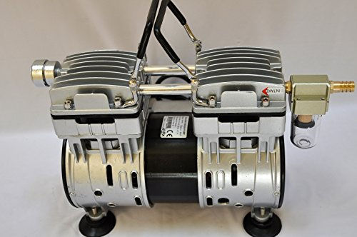 Complete-Goat-Bucket-Milkerwith-34HP-55CFM-Twin-Piston-Oil-Less-Oil-Free-OILLESS-OILFREE-Vacuum-Pump-10L-SS-Bucket-Pail-Clear-Claw-ClusterPulsatorShellsLiners-and-All-The-Hoses-Ready-Milk-0-2