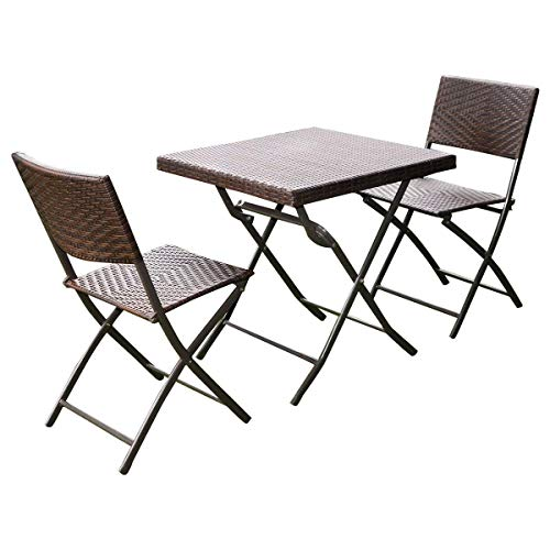 Custpromo-3-pcs-Set-of-Foldable-Table-and-Chairs-Patio-Rattan-Folding-Bistro-Furniture-Set-0