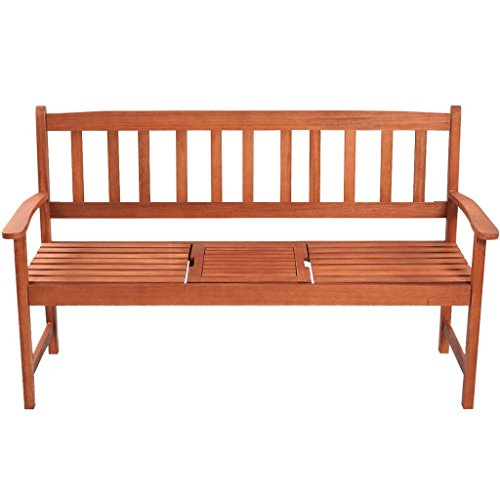 Daonanba-Classic-Durable-Garden-Bench-Outdoor-Stable-Patio-Bench-with-Pop-up-Table-Acacia-Wood-0-0