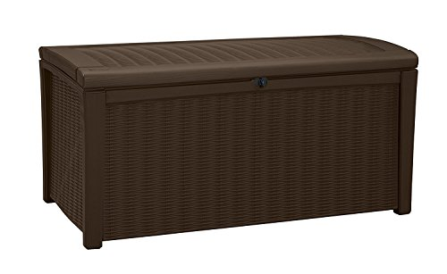 Deck-Box-for-Patio-Pool-Storage-Bench-in-Resin-110-Gallon-Extra-Large-Outdoor-Design-With-FREE-Padlock-0-0