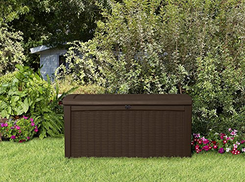 Deck-Box-for-Patio-Pool-Storage-Bench-in-Resin-110-Gallon-Extra-Large-Outdoor-Design-With-FREE-Padlock-0-2