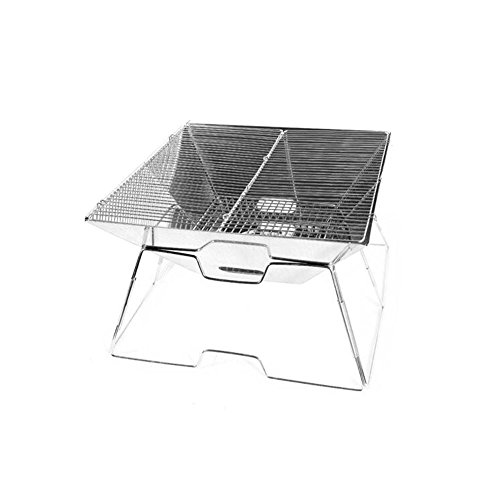 Deerbird-Quick-Grill-Folding-Stable-Charcoal-BBQ-Grill-Compact-and-Functional-Barbecue-Tool-Made-from-Stainless-Steel-for-Travel-Hiking-Picnics-0
