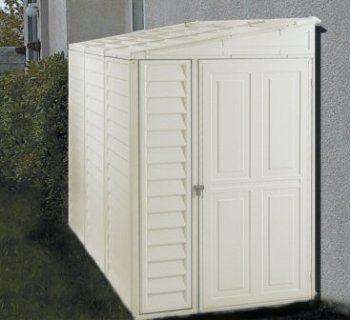 DuraMax-00614-4-x-8-Stronglasting-SideMate-Vinyl-Storage-Shed-With-Foundation-Kit-00614-DM-Category-Duramax-Vinyl-Sheds-0