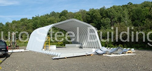 Duro-Span-Steel-A25x30x12-Metal-Building-Kit-Factory-Direct-New-Garage-Shed-Workshop-0-0