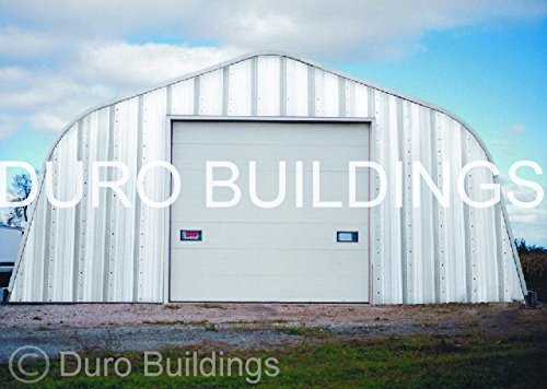Duro-Span-Steel-A25x30x12-Metal-Building-Kit-Factory-Direct-New-Garage-Shed-Workshop-0-1