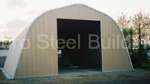 Duro-Span-Steel-A25x30x12-Metal-Building-Kit-Factory-Direct-New-Garage-Shed-Workshop-0