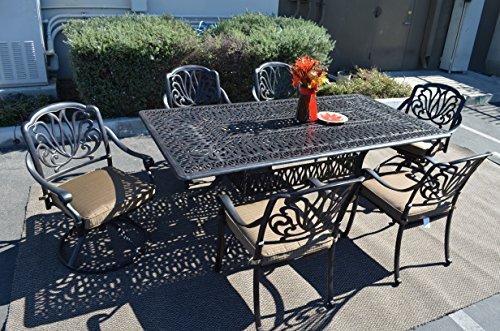 Elizabeth-Outdoor-Patio-7-pc-Dining-Set-44-X-84-Cast-Aluminum-0