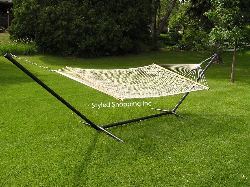 Extra-Large-Deluxe-2-Person-White-Rope-Hammock-Extra-Soft-Poly-Rope-0-0